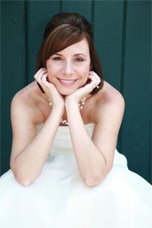 Amber DeJean, Bridal Portrait